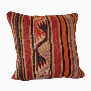 Kelim Kissenbezug in blassen Farbtönen von Vintage Pillow Store Contemporary