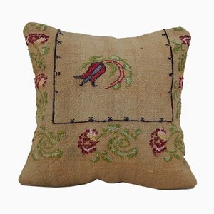 Needlepoint Tapestry Pillow Cover from Vintage Pillow Store Contemporary