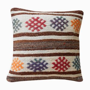 Grainsack Kilim Throw Pillow Cover from Vintage Pillow Store Contemporary