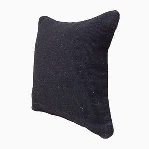 Schwarzer Kelim Kissenbezug von Vintage Pillow Store Contemporary
