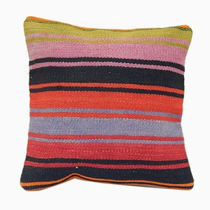 Orangener Kelim Kissenbezug von Vintage Pillow Store Contemporary