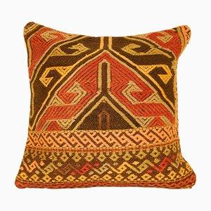 Großer türkischer Kelim Kissenbezug von Vintage Pillow Store Contemporary
