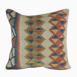 Gewebter türkischer Kelim Kissenbezug von Vintage Pillow Store Contemporary