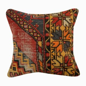 Woven Oushak Rug Pillow Cover from Vintage Pillow Store Contemporary