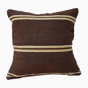 Housse de Coussin Kilim Marron de Vintage Pillow Store Contemporary