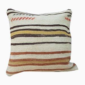 Grande Housse de Coussin Kilim en Laine de Vintage Pillow Store Contemporary