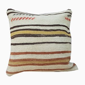Large Wool Kilim Pillow Cover from Vintage Pillow Store Contemporary
