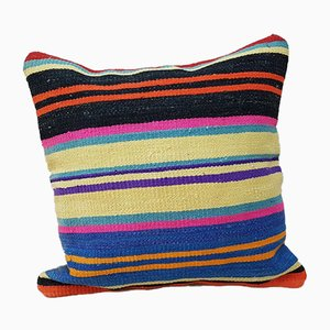 Woven Kilim Cushion Cover from Vintage Pillow Store Contemporary