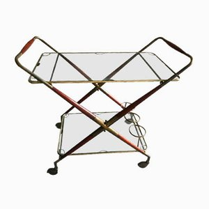 Vintage Bar Cart by Cesare Lacca, 1950s
