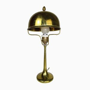 Art Deco Brass Table Lamp, 1910s