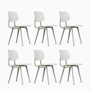 Revolt Chairs by Friso Kramer for Ahrend De Cirkel, 1950s, Set of 6