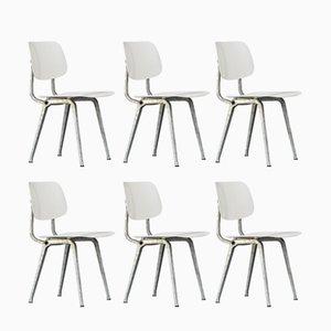 Revolt Stühle von Friso Kramer für Ahrend De Cirkel, 1950er, 6er Set