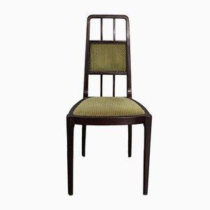 Chaise de Salon en Acajou par Alberto Issel, 1910