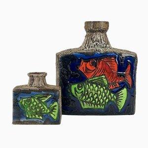 Vintage Vasen von Scheurich, 2er Set