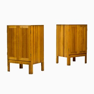 Scandinavian Modern Oregon Pine Cabinets by Børge Mogensen for Karl Andersson & Söner, 1960s, Set of 2