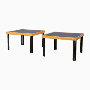 Side Tables by Pietro de Martini for Cassina, 1980s, Set of 2