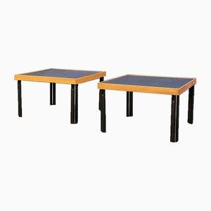 Tavolini di Pietro de Martini per Cassina, anni '80, set di 2