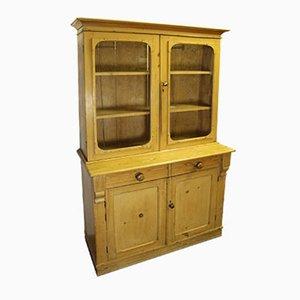 Antiker Schrank aus Pinienholz mit 2 Türen, 1910er