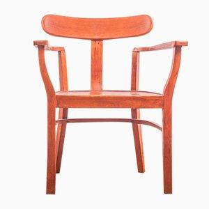 Art Deco Chair by Lajos Kozma for Szék és Faárugyár, 1920s