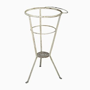 Hungarian Iron Wash Stand or Garden Planter, 1940s