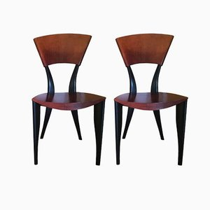 Italian Karina TV Chairs by Gaby Fois Dorell for Sawaya & Moroni, 2000s, Set of 2