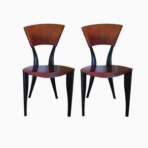 Italienische Karina TV Stühle von Gaby Fois Dorell für Sawaya & Moroni, 2000er, 2er Set