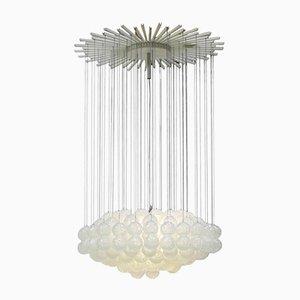 Mid-Century Modern Italian Glass Pendant Lamp from Zero Quattro