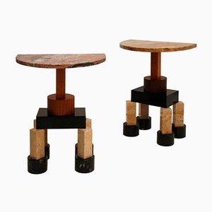Tables Consoles Demistella par Ettore Sottsass, Italie, Set de 2