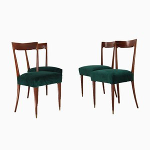 Dining Chairs by Guglielmo Ulrich, 1940s, Set of 4
