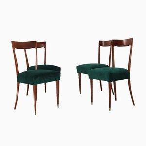 Esszimmerstühle von Guglielmo Ulrich, 1940er, 4er Set