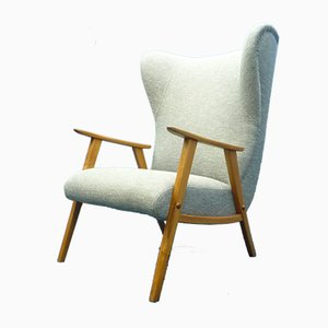 Mid-Century Wingback Chair from Wilhelm Knoll, 1950s