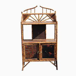 Offenes Bücherregal aus Bambus, 1920er