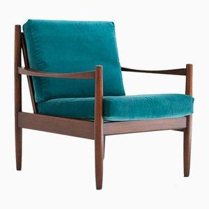 Mid-Century Swedish Modern Armchair, 1950s