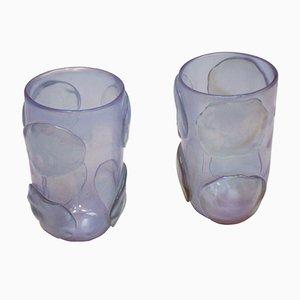 Vasi in vetro di Murano di Costantini, Italia, set di 2