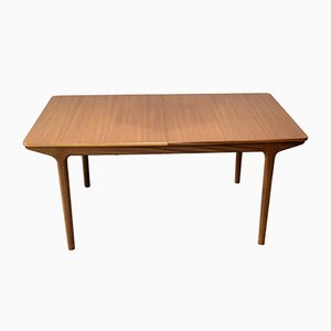 Teak Double Leaf Extendable Dining Table from McIntosh, 1970s