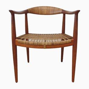 Teak JH 501 Stuhl von Hans J Wegner für Johannes Hansen, 1950er