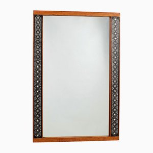 Vintage Swedish Mirror by Hans-Agne Jakobsson for Markaryd, 1950s