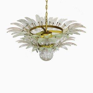 Lámpara de araña de cristal de Murano, 1978
