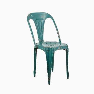 Silla industrial de Joseph Mathieu para La Société Industrielle des meubles Multipl's, años 50