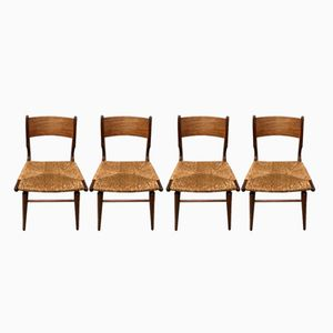 Mid-Century Chairs, Set of 4