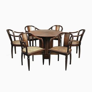 Art Deco Dining Set by Joubert et Petit for Dim