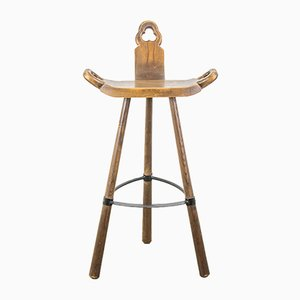 Brutalist Spanish Bar Stool, 1960s