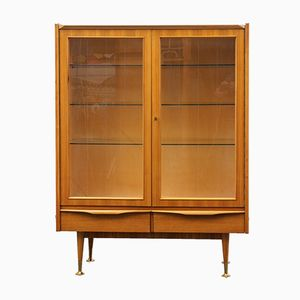 Mid-Century Walnut Showcase