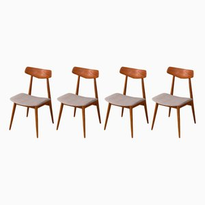 Mid-Century Dining Chairs from Habeo, Set of 4