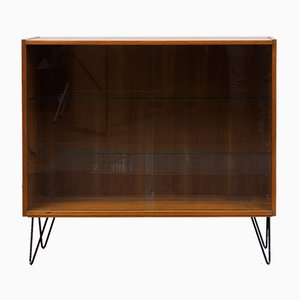 Mid-Century Walnut Showcase, 1960s