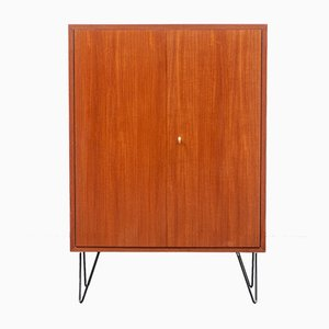 Teak Highboard on Loop Feet, 1960s
