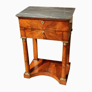 Small Antique Walnut Trumeau, 1820s