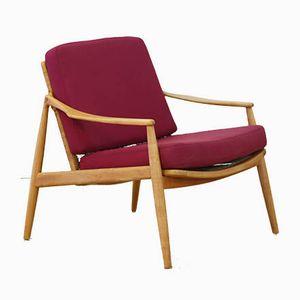 Vintage Sessel von Hartmut Lohmeyer für Wilkhahn, 1950er