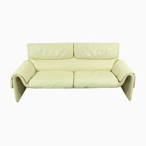 Swiss DS 2011 Leather Sofa from de Sede, 1960s