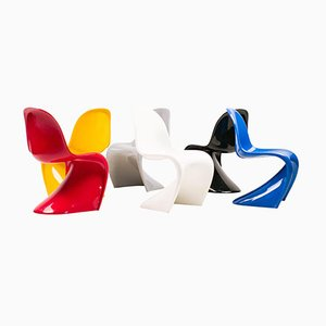 Side Chairs by Verner Panton for Vitra, 1982, Set of 6